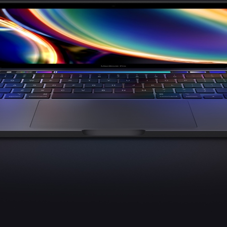 Promotional image of the new 13-inch Macbook Pro, image provided by Apple
