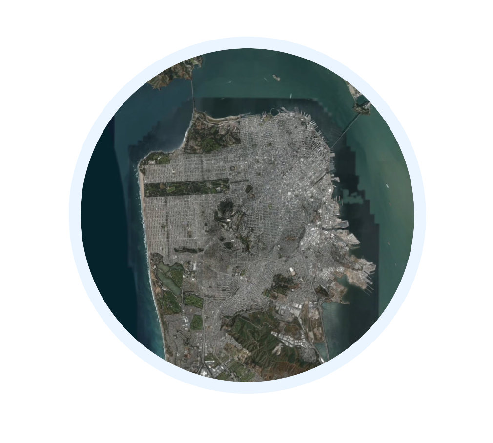 Apple's image of approximate location - Image courtesy of Apple