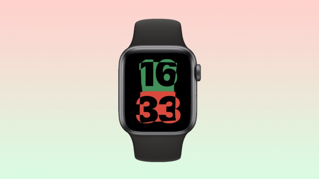 Apple Watch with Unity Watch face.  Source: 9to5Mac